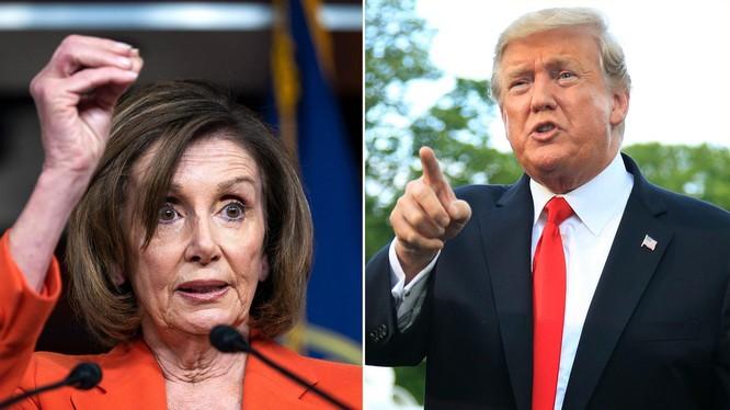 """Chủ tịch Hạ viện Nancy Pelosi nói muốn ông Trump """"ngồi tù"""" (Ảnh: CNN)"""