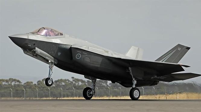 Chiến đấu cơ tàng hình F-35 của Mỹ (Ảnh: Getty)