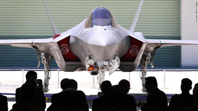 Mẫu F-35A được lắp ráp tại Nhật Bản (Ảnh: CNN)