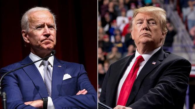 Joe Biden đang dẫn trước Trump tới 13 điểm trong kết quả thăm dò toàn quốc (Ảnh: ABC News)