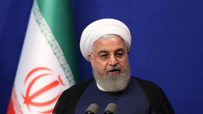 Tổng thống Iran Hassan Rouhani (Ảnh: AP)