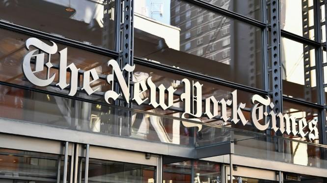 """Tờ New York Times bị ông Trump tố là có hành động """"phản quốc rõ ràng"""" (Ảnh: AP)"""