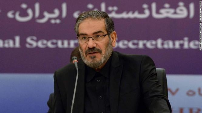 Bộ trưởng An ninh Quốc gia Iran Ali Shamkhani (Ảnh: CNN)