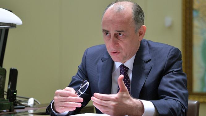 Ông Yuri Kokov, Phó Chủ tịch Hội đồng An ninh Nga (Ảnh: RT)