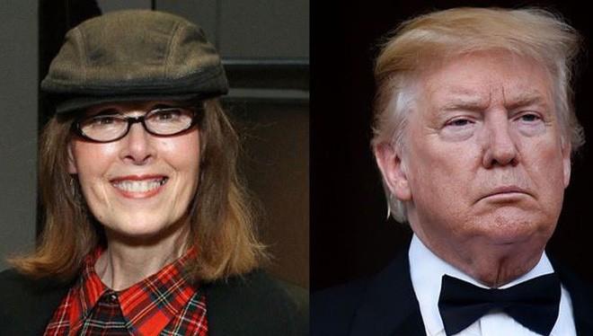 Nhà báo Elizabeth Jean Carroll và Tổng thống Mỹ Donald Trump (Ảnh: Elle)