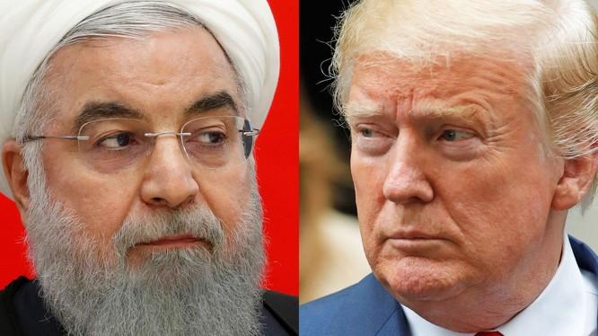 Lãnh đạo Mỹ, Iran có màn đấu khẩu căng thẳng (ảnh: Business Insider)