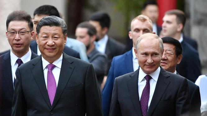 Mối quan hệ giữa Nga và Trung Quốc ngày càng được tăng cường (Ảnh: National Interest)