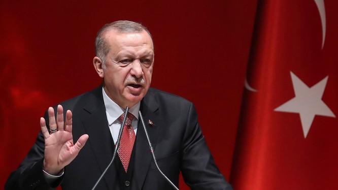 Tổng thống Thổ Nhĩ Kỳ Recep Tayyip Erdogan (Ảnh: Time)