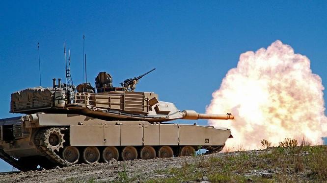 Mẫu xe tăng Abram của Mỹ (Ảnh: Military)