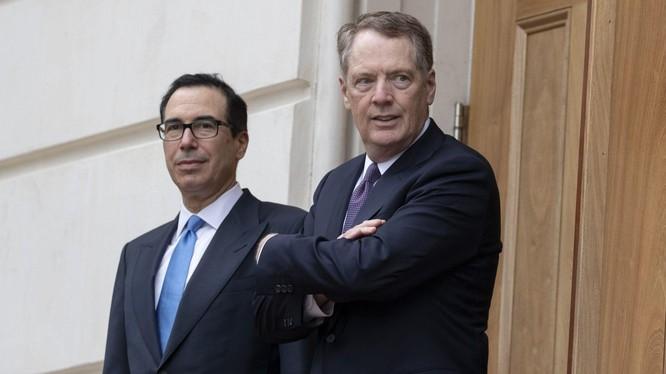 Giới chức Mỹ đã có cuộc điện đàm cấp cao đầu tiên với các đối tác Trung Quốc (Ảnh: Bloomberg)