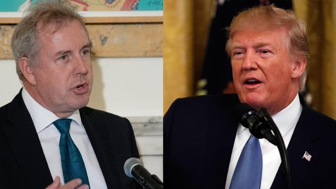 Cựu Đại sứ Mỹ tại Anh Kim Darroch tiết lộ thêm thông tin về Tổng thống Trump (Ảnh: Business Insider)