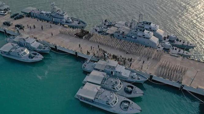 Căn cứ hải quân Ream ở Campuchia (Ảnh: KhmerTimes)
