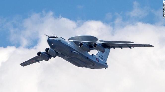 Máy bay cảnh báo sớm A-50 của quân đội Nga (Ảnh: CNN)