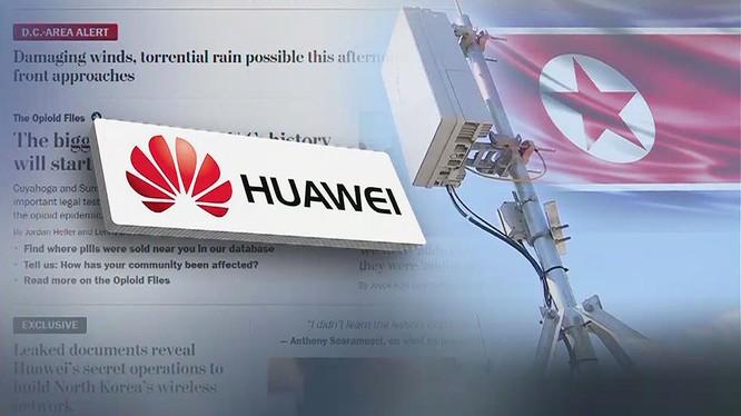 Huawei bị cho là đang giúp Triều Tiên xây dựng mạng 5G