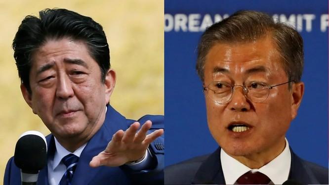 Căng thẳng giữa Nhật Bản và Hàn Quốc đã đẩy hai nước tới sát bờ vực một cuộc chiến thương mại (Ảnh: FT)