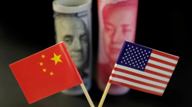 Thương chiến Mỹ-Trung có thể biến thành một cuộc chiến tiền tệ (Ảnh: Reuters)