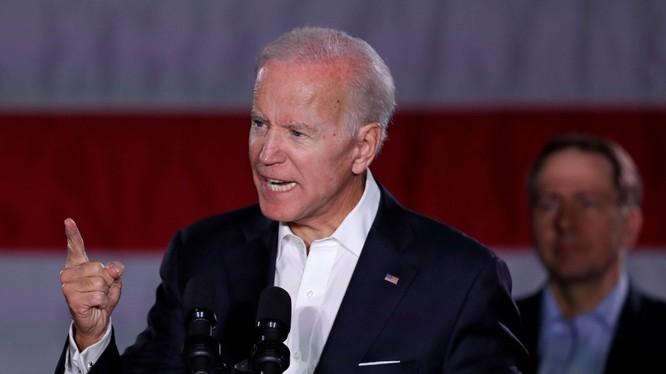 Cựu Phó Tổng thống Mỹ Joe Biden (Ảnh: AP)