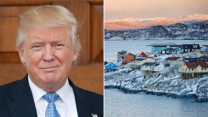 Có rất nhiều lời đồn đoán về việc ông Trump thực sự muốn mua lại Greenland (Ảnh: Getty)