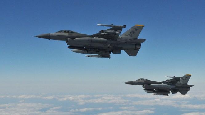 Chiến đấu cơ F-16 mà Mỹ mới phê chuẩn bán cho Đài Loan (Ảnh: Sputnik)