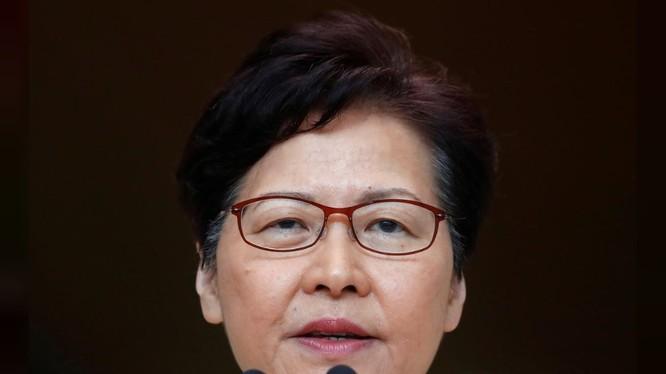 Đặc khu trưởng Hong Kong Carrie Lam (Ảnh: Reuters)