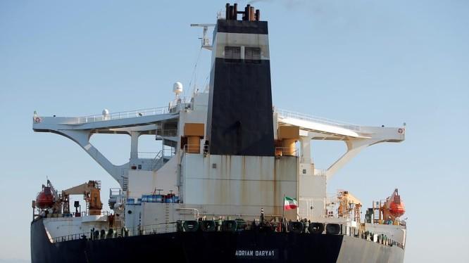 Tàu chở dầu Adrian Darya của Iran - tâm điểm xung đột giữa Mỹ và Iran trong những tuần gần đây (Ảnh: Reuters)
