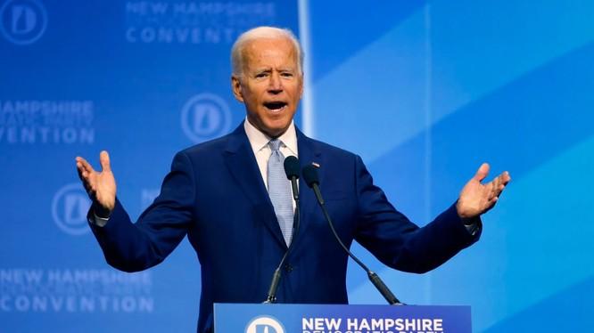 Cựu Phó Tổng thống Mỹ Joe Biden dẫn đầu trong cuộc đua giành vị trí ứng viên Tổng thống của đảng Dân chủ (Ảnh: Washington Post)