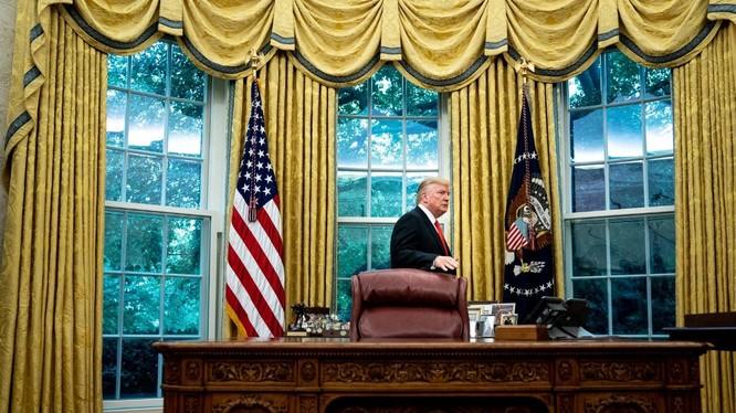 Chấm dứt cuộc chiến kéo dài ở Afghanistan là một trong những ưu tiên của Tổng thống Trump (Ảnh: New York Times)