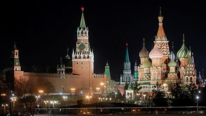 Điện Kremlin tại thủ đô Moscow, Nga (Ảnh: RT)