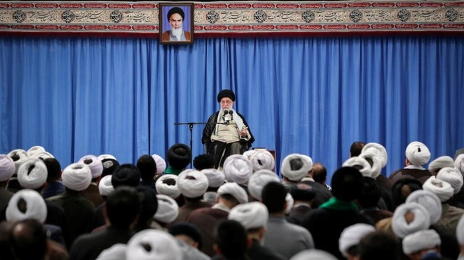 Lãnh đạo tối cao Iran Ayatollah Ali Khamenei (Ảnh: Reuters)