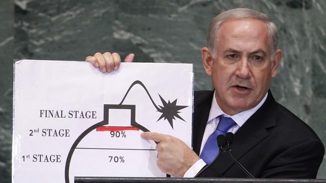 Thủ tướng Israel Banjamin Netanyahu (Ảnh: RT)