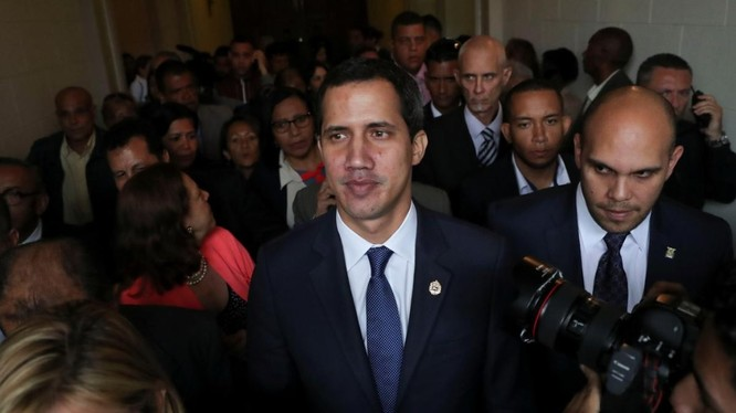Thủ lĩnh phe đối lập Venezuela Juan Guaido (Ảnh: Reuters)