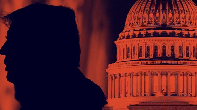 Bê bối chính trị ở Washington đang bủa vây Tổng thống Trump (Ảnh: NBC)