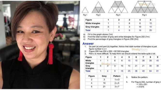 Bà Yeo và thông điệp mà bà gửi đi đang nhận được sự đồng cảm của nhiều phụ huynh ở Singapore (Ảnh: Yahoo News)