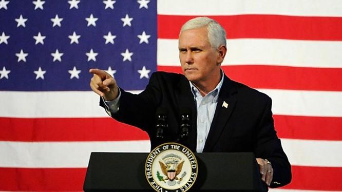 Phó Tổng thống Mỹ Mike Pence (Ảnh: AFP)