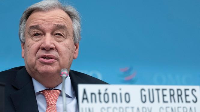 Tổng thư ký LHQ Antonio Guterres (Ảnh: Getty)