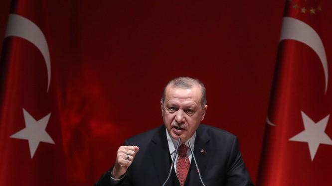 Tổng thống Thổ Nhĩ Kỳ Recep Tayyip Erdogan (Ảnh: Newsweek)