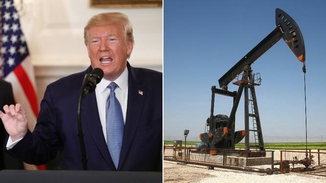 """Sau khi rút binh sĩ khỏi Syria, ông Trump lại muốn triển khai binh sĩ ở nước này để """"giữ giếng dầu"""" (Ảnh: RT)"""