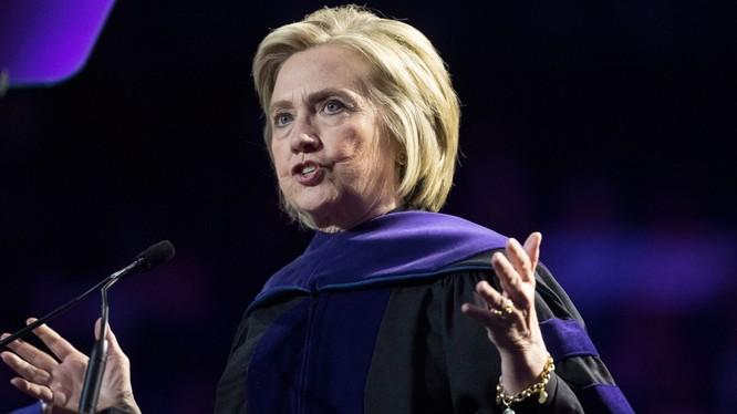 Có nhiều thông tin cho rằng bà Clinton có thể nhập cuộc đua phía đảng Dân chủ (Ảnh: Inquirer)