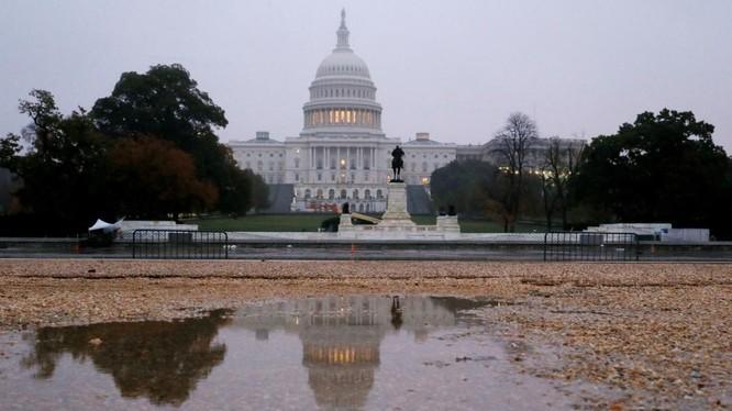 Hai nghị quyết mà Hạ viện Mỹ thông qua vấp phải phản ứng phẫn nộ từ chính quyền Ankara (Ảnh: Reuters)