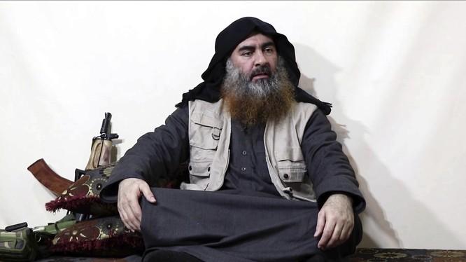 Cố thủ lĩnh IS Abu Bakr al-Baghdadi (Ảnh: Times)