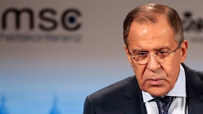 Ngoại trưởng Nga Sergei Lavrov (Ảnh: Foreign Policy)