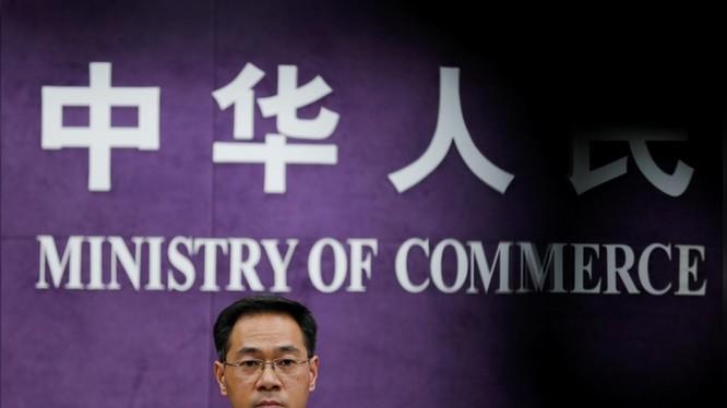 Người phát ngôn Bộ Thương mại Trung Quốc Cao Phong (Ảnh: Reuters)