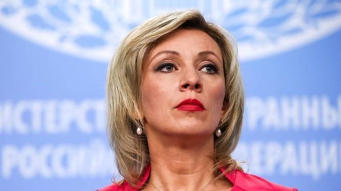 Phát ngôn viên Bộ Ngoại giao Nga Maria Zakharova (Ảnh: TASS)