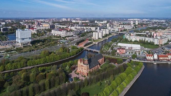 Khu vực Kaliningrad của Nga nằm ở vùng biển Baltic (Ảnh: Sputnik)