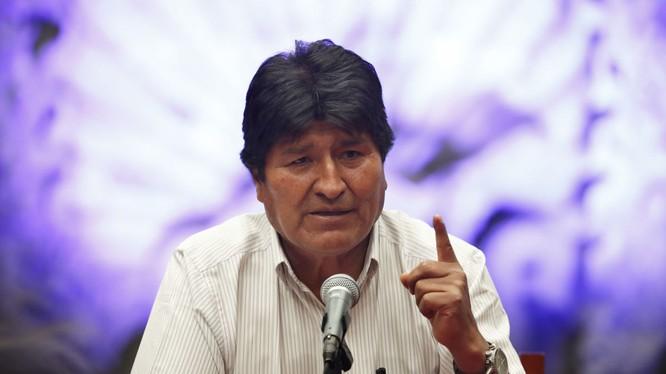 Cựu Tổng thống Morales đang phải trú tại Mexico dưới diện tị nạn chính trị (Ảnh: Sputnik)