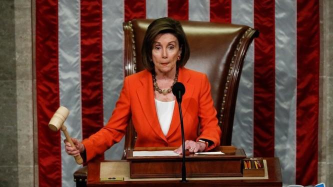 Chủ tịch Hạ viện Mỹ Nancy Pelosi (Ảnh: Reuters)