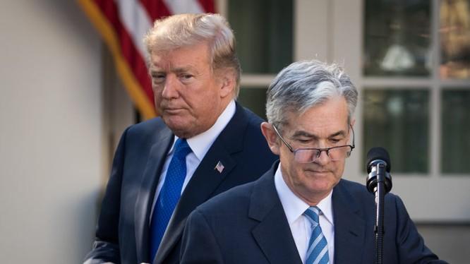 Ông Powell là mục tiêu công kích ưa thích của Tổng thống Trump (Ảnh: Getty)