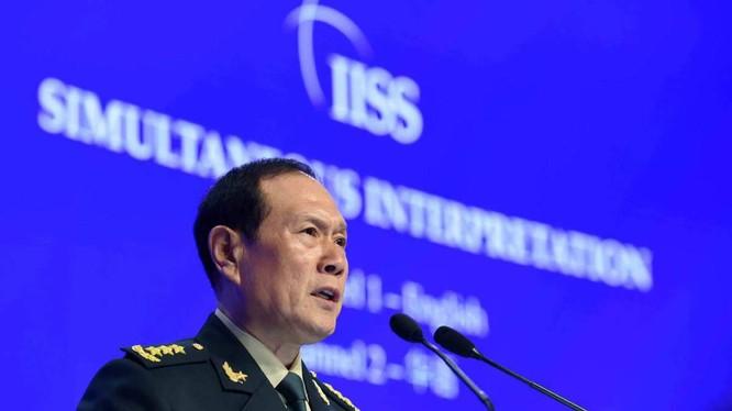 Bộ trưởng Quốc phòng Trung Quốc Ngụy Phượng Hòa (Ánh: SCMP)