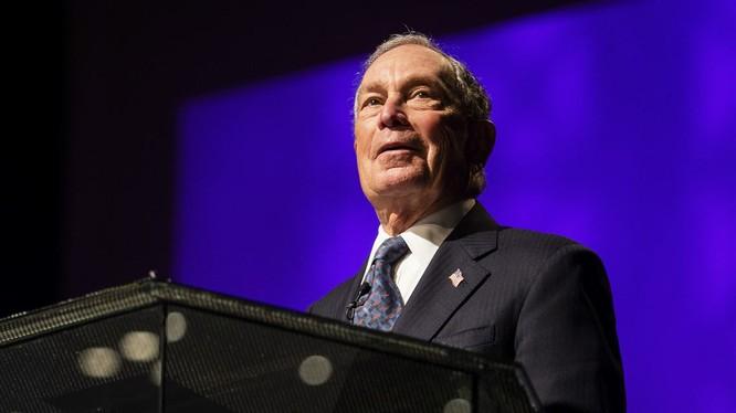 Tỷ phú Mỹ Michael Bloomberg nhập cuộc đua vào Nhà Trắng (Ảnh: Getty)