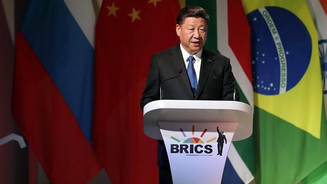 Chủ tịch Trung Quốc Tập Cận Bình (Ảnh: Sputnik)